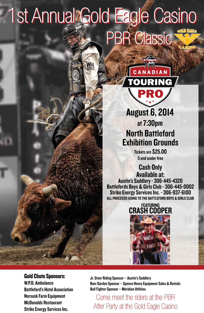 2014 North Battleford PBR Poster