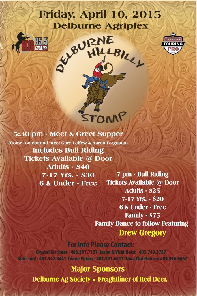 Hillybilly Stomp 2015 poster