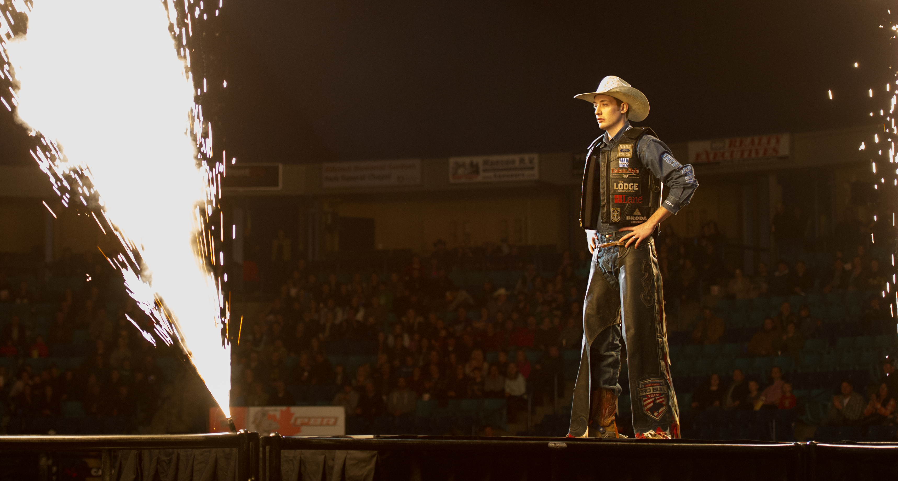 The PBR Finals at the Sask Tel Centre Saskatoon, Saskatchewan, Canada, November 20, 2015