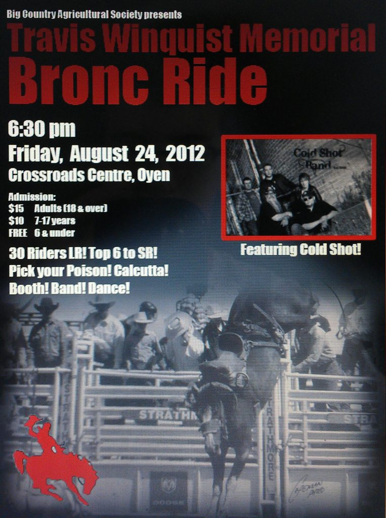 Travis Winquist Memorial to Feature Top Bronc Riders Friday