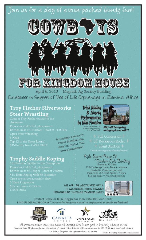 Cowboys for Kingdom House
