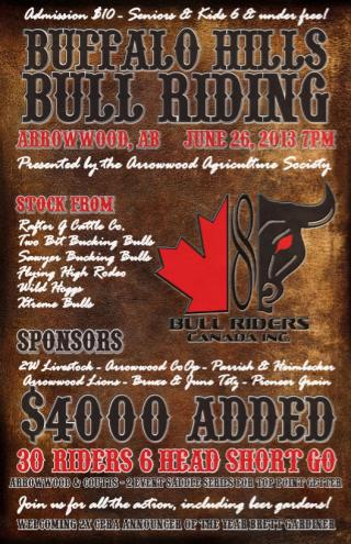 Buffalo Hills and Border Town Showdown Saddle Series