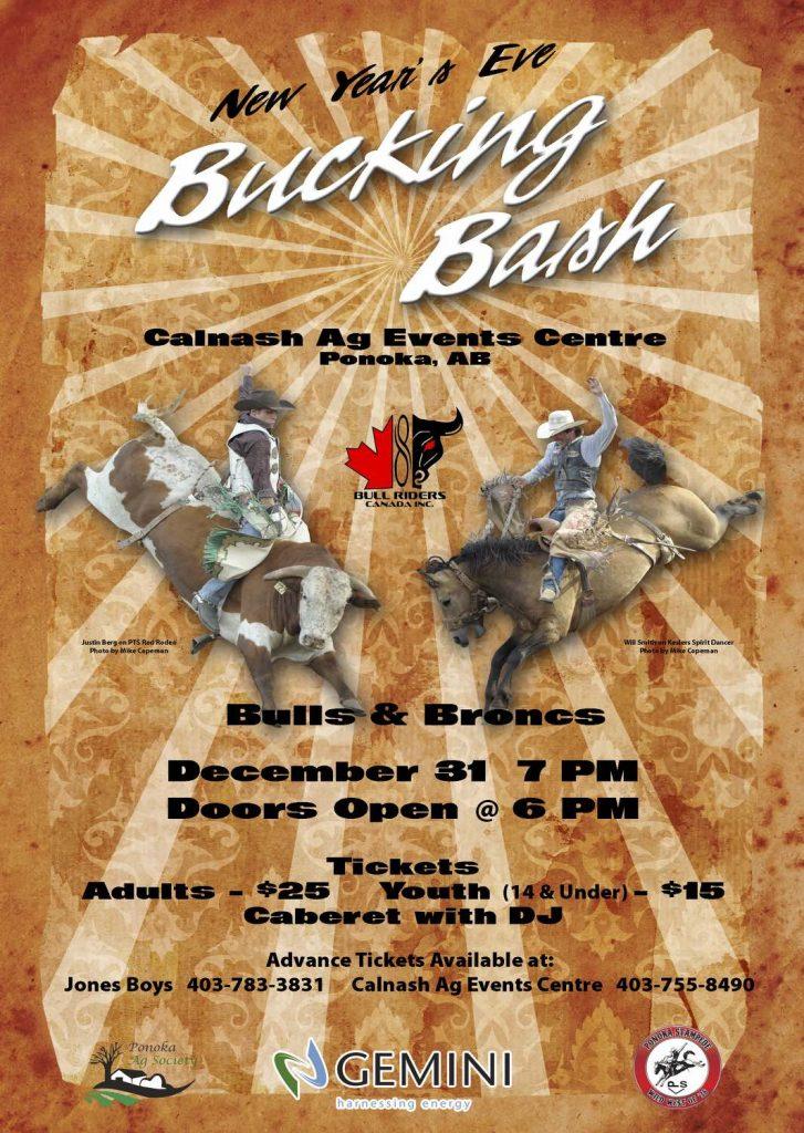 Bucking Bash Poster
