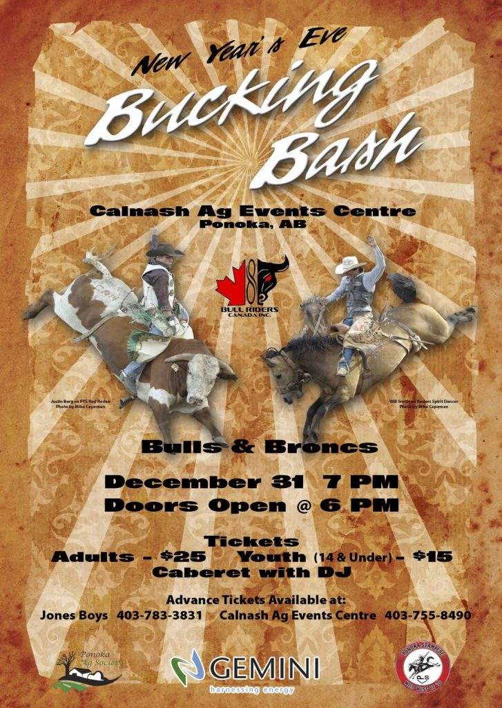 Ringing In 2015 At The New Year S Eve Bucking Bash In