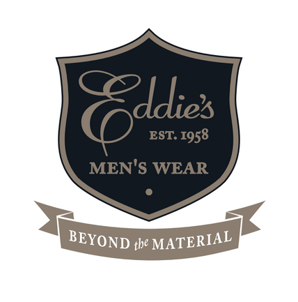 eddie's men's wear logo