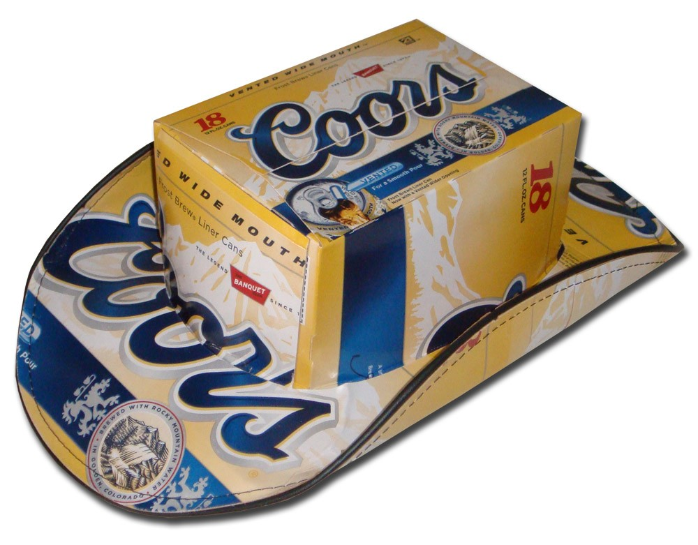Coors-Light-Coors-Cowboy-Hat---Beer-Box
