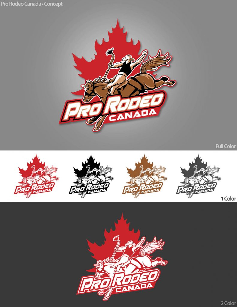 Opinion Thoughts On The New Pro Rodeo Canada Logo