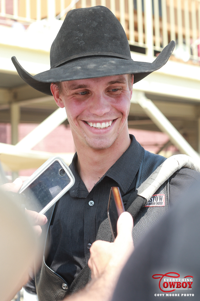 Larsen Excited To Ride At First Cfr Everythingcowboy Com