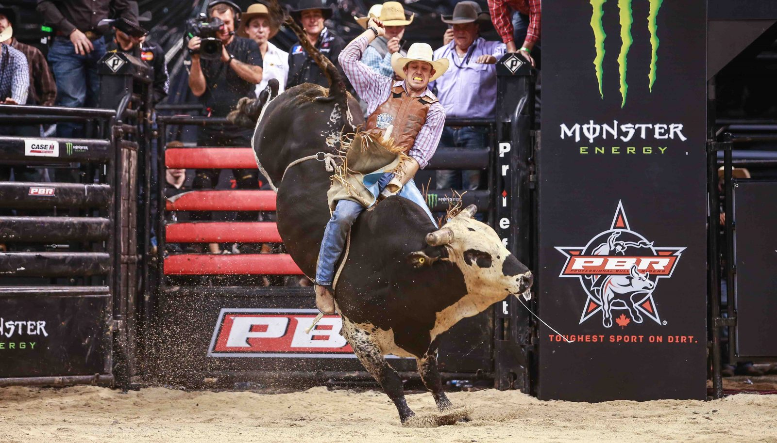 Werries Takes Pbr Monster Energy Stop At Mts Centre