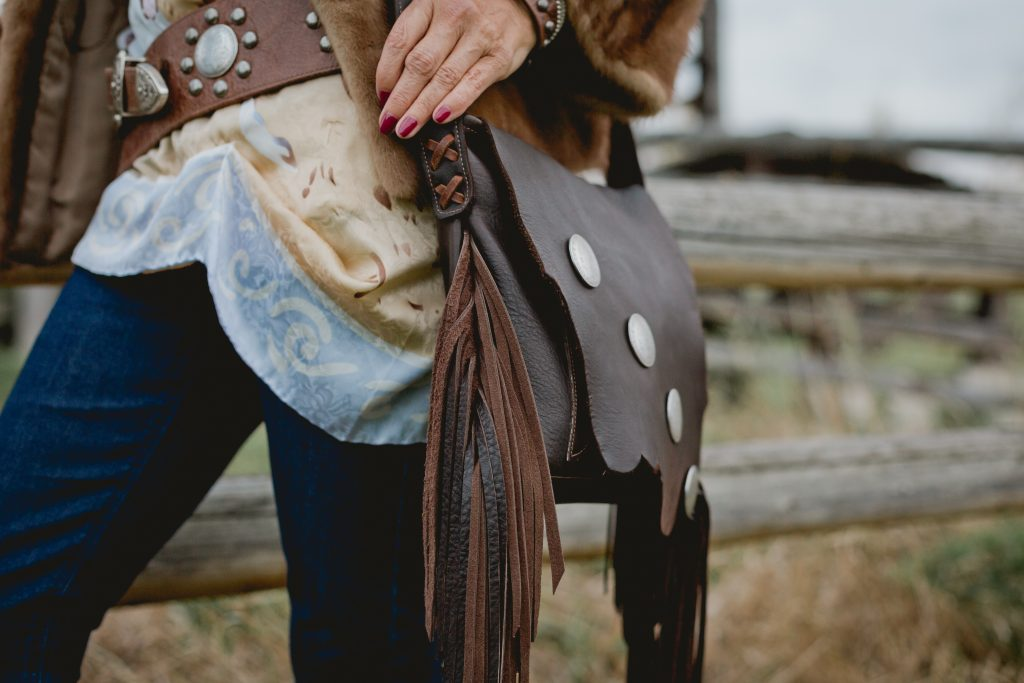 Gorgeous leather bag from Paige Leather by Paige Albrecht