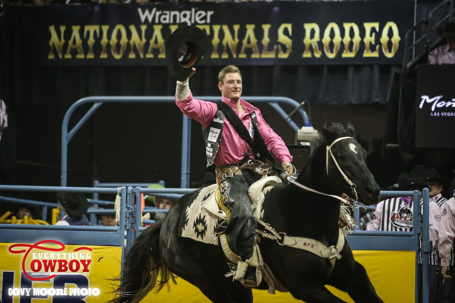 But in the Bareback Riding there was no one better than Jake Vold, again eclipsing the field with an 89 point score atop Hi Lo ProRodeo's Wilson Sanchez.