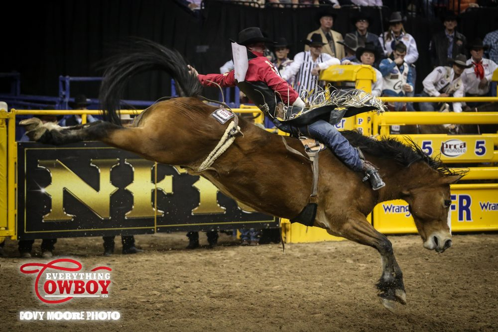 Vold Takes Over Aggregate Lead At Wrangler Nfr