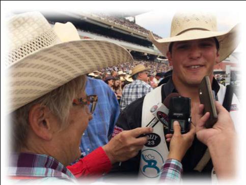 Calgary Stampede Live Radio Broadcast Everythingcowboy Com