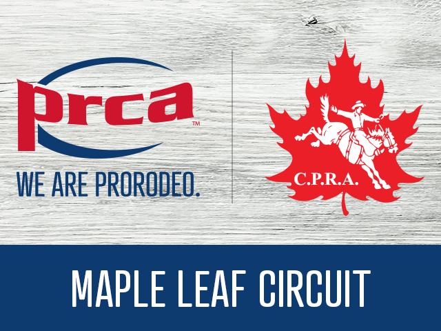 Prca Cpra Create Maple Leaf Circuit Everythingcowboy Com